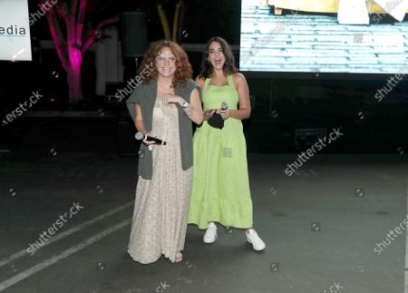 Editorial photo of THE BROKEN HEARTS GALLERY screening at the Sony Pictures drive-in, Culver City, CA, USA - 13 September 2020