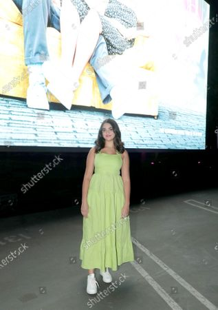 Editorial image of THE BROKEN HEARTS GALLERY screening at the Sony Pictures drive-in, Culver City, CA, USA - 13 September 2020