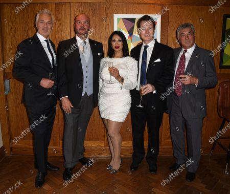 Stock Image of Jeanine Nerissa Sothcott, Billy Murray, Martin Kemp and Nick Moran