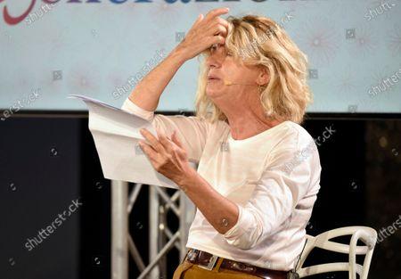 """Milan, """"The time of women"""" In the photo: Angela Finocchiaro"""