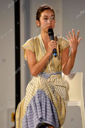 Editorial photo of 'The time of women' event, Milan, Italy - 12 Sep 2020