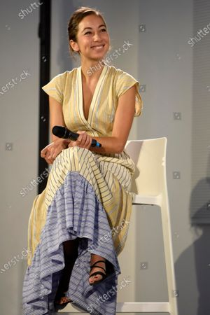 Editorial picture of 'The time of women' event, Milan, Italy - 12 Sep 2020