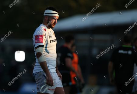 Tom Price of Exeter Chiefs at the final whistle
