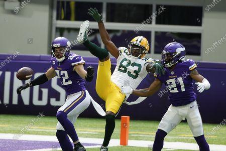 Editorial photo of Packers Vikings Football, Minneapolis, United States - 13 Sep 2020