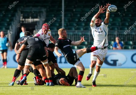 Editorial picture of Saracens v Exeter, Gallagher Premiership, Rugby Union, Allianz Park, Hendon, London, UK - 13 Sep 2020