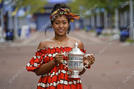 Editorial picture of US Open Tennis, New York, United States - 13 Sep 2020