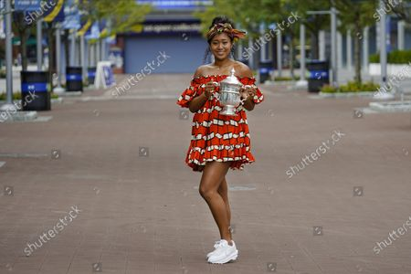 Editorial image of US Open Tennis, New York, United States - 13 Sep 2020
