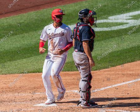 Editorial image of Braves Nationals Baseball, Washington, United States - 13 Sep 2020
