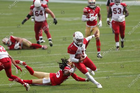 Editorial picture of Cardinals 49ers Football, Santa Clara, United States - 13 Sep 2020