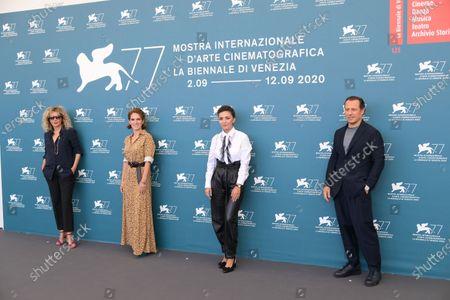 Valeria Golino, Maya Sansa, Serena Rossi and Stefano Accorsi