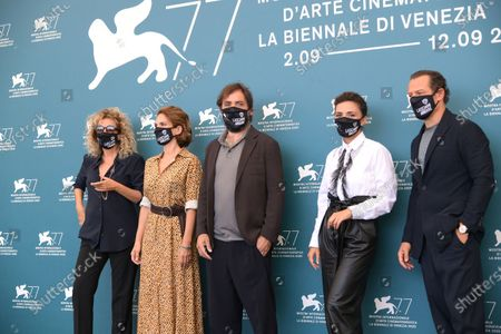 Editorial image of 'Let Me Go' photocall, 77th Venice Film Festival, Italy  - 12 Sep 2020