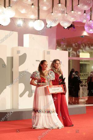Stock Photo of Ana Rocha and  Paula Alvarez Vaccaro
