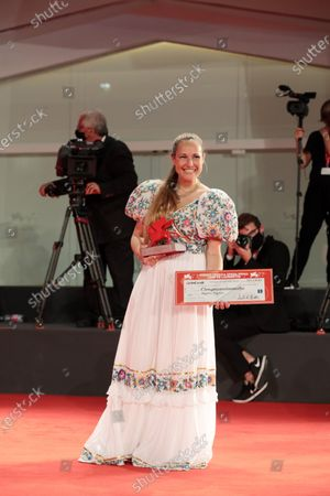 Editorial image of Winners photocall, 77th Venice Film Festival, Italy - 12 Sep 2020