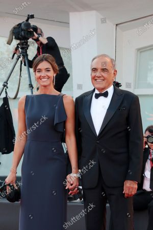Alberto Barbera and Julia Barbera