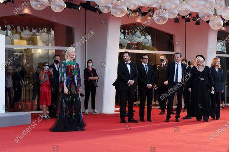 Editorial photo of Closing Ceremony, 77th Venice Film Festival, Italy - 12 Sep 2020