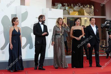 Maya Sansa, Director Stefano Mordini, Valeria Golino, Serena Rossi and Stefano Accorsi