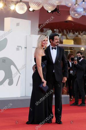 Stock Image of Anna Ferzetti and Pierfrancesco Favino