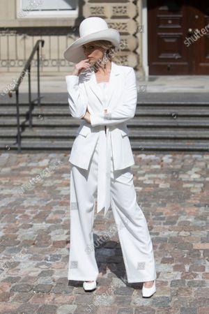 Editorial photo of RVNG show, Runway, New York Fashion Week, Toronto, Canada - 12 Sep 2020