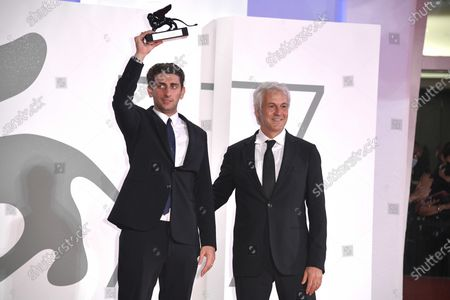Editorial picture of Winners photocall, 77th Venice Film Festival, Italy  - 12 Sep 2020