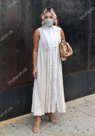 Editorial photo of Jason Wu Spring Summer 2021, Street Style, New York Fashion Week, USA - 13 Sep 2020