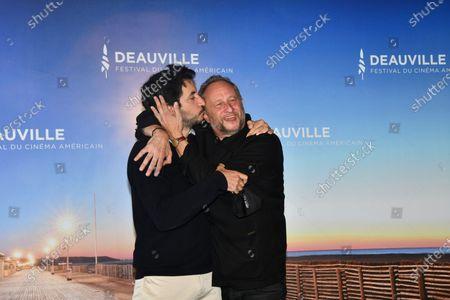 Douglas Attal and Benoit Poelvoorde