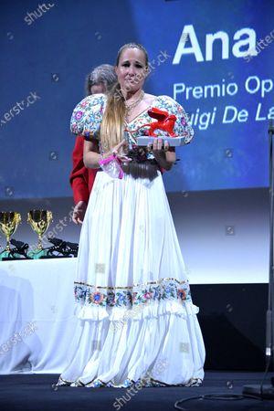Editorial photo of Closing Ceremony, Inside, 77th Venice Film Festival, Italy - 12 Sep 2020