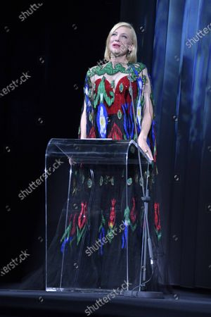 Editorial picture of Closing Ceremony, Inside, 77th Venice Film Festival, Italy - 12 Sep 2020