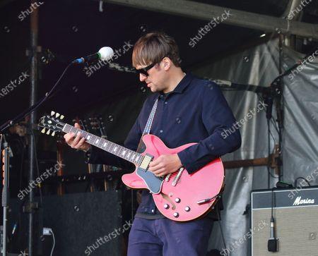 Stock Photo of Kaiser Chiefs guitarist, Andrew White