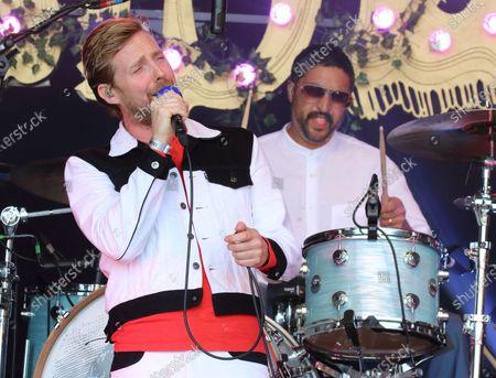 Kaiser Chiefs lead singer, Ricky Wilson