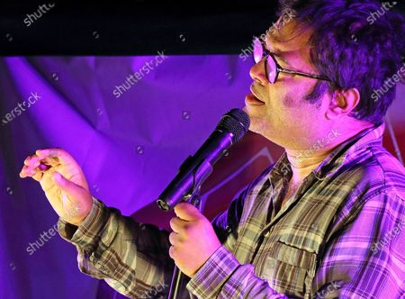Paul Sinha performs a live socially distanced stand up comedy show.