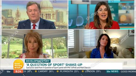 Piers Morgan, Susanna Reid, Jennie Bond and Jemma Forte