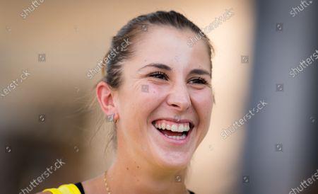 Belinda Bencic of Switzerland during media day at the 2020 Internazionali BNL d'Italia WTA Premier 5 tennis tournament