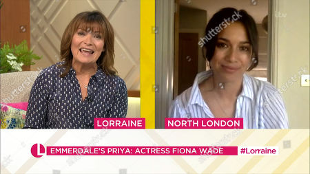 Lorraine Kelly and Fiona Wade