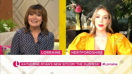 Lorraine Kelly and Katherine Ryan