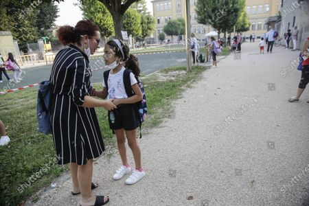 Editorial picture of Virus Outbreak Back to School, Codogno, Italy - 14 Sep 2020