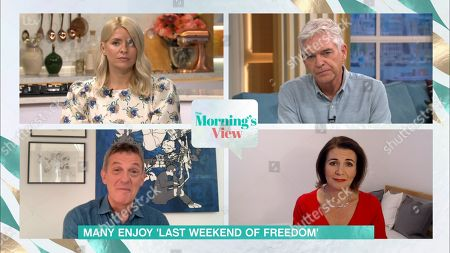 Holly Willoughby, Phillip Schofield, Matthew Wright and Julia Hartley-Brewer