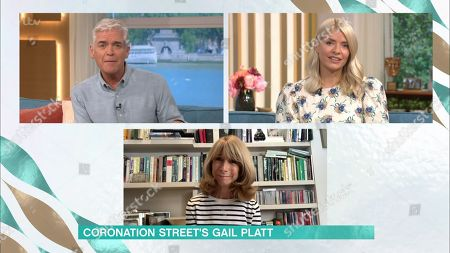 Phillip Schofield, Holly Willoughby and Helen Worth