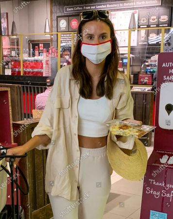 Editorial picture of Exclusive - Lucy Watson at Gatwick Airport, UK - 12 Sep 2020