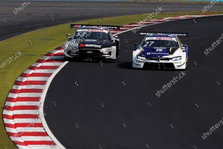 Jamie Green (GBR) (Audi Sport Team Rosberg)  and Jonathan Aberdein (ZAF) (WRT Team Audi Sport)