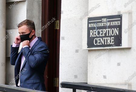 Carl Frampton pictured as he heads into a High Court showdown with McGuigan in Belfast.Mr Frampton, 32, is suing Mr McGuigan, his wife Sandra McGuigan and Cyclone Promotions (UK) Ltd, claiming a failure to pay purse money from his bouts.