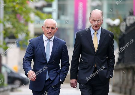 Editorial picture of Carl Frampton v Barry McGuigan high court case, Belfast, Northern Ireland - 14 Sep 2020