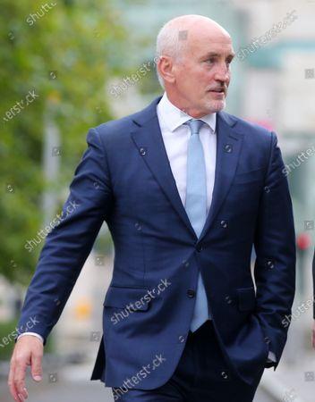 Editorial photo of Carl Frampton v Barry McGuigan high court case, Belfast, Northern Ireland - 14 Sep 2020