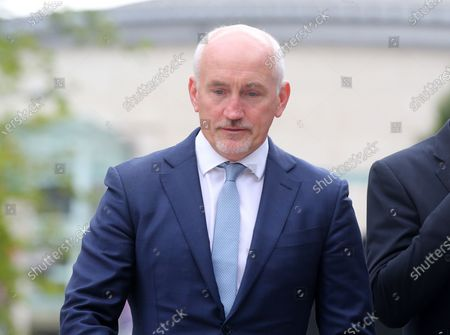 Stock Photo of Barry McGuigan pictured as he heads into a High Court showdown with Frampton in Belfast.Mr Frampton, 32, is suing Mr McGuigan, his wife Sandra McGuigan and Cyclone Promotions (UK) Ltd, claiming a failure to pay purse money from his bouts.Photo by Jonathan Porter / Press Eye.
