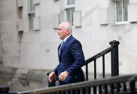 Barry McGuigan pictured as he heads into a High Court showdown with Frampton in Belfast.Mr Frampton, 32, is suing Mr McGuigan, his wife Sandra McGuigan and Cyclone Promotions (UK) Ltd, claiming a failure to pay purse money from his bouts.Photo by Jonathan Porter / Press Eye.