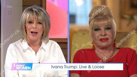 Ruth Langsford and Ivana Trump