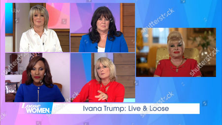Editorial image of 'Loose Women' TV Show, London, UK - 14 Sep 2020