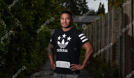 Manu Tuilagi stands out in Cheshire's socalled Golden Triangle - prime footballer territory - in his rainy-day attire of T-shirt, shorts and Samoan flip-flops. He is relaxed and ready to tackle the elephant in the room. This isn't all about Leicester and the abrupt departure which ended his family's 20-year residency at Welford Road. This is also about joining upwardly mobile Sale, as well as his ambitions with England and the British and Irish Lions.