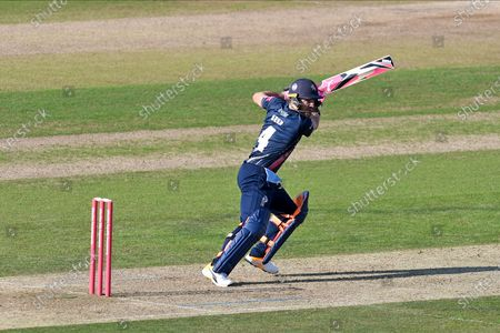 Heino Kuhn of Kent batting during the Vitality T20 Blast South Group match between Hampshire County Cricket Club and Kent County Cricket Club at the Ageas Bowl, Southampton