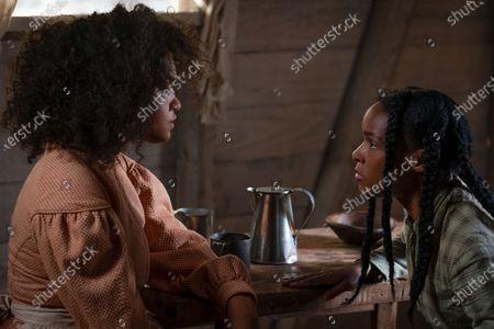 Kiersey Clemons as Julia and Janelle Monae as Eden