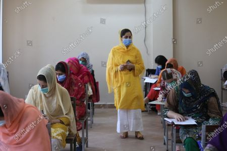 Stock Image of Shaheed Benazir Bhutto Women University is set to reopen for exams .